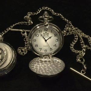 Pewter Pocket Watch
