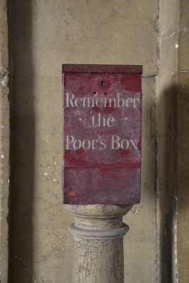 Poors Box at Barts
